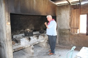 Gerald Kenneally in the Maubara kitchen