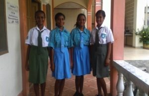 Four new students for secondary school.